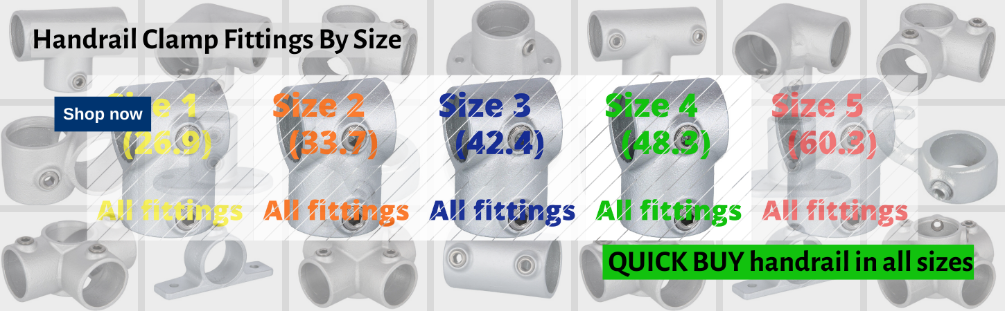 Shop4Handrail Quick Buy handrail by size